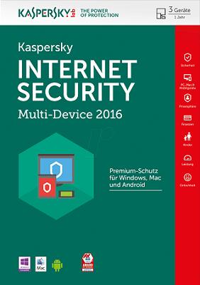 Kaspersky Internet Security 2017 dành cho 5PC